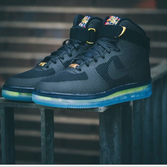 Top Rank Nike Air Force 1 Low CMFT Lux Leather Black Ice